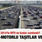 2014 Motorlu Taşıtlar Vergisi Ne Kadar?